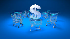 Purchasing power Stock Images