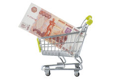 Purchasing power. Royalty Free Stock Image