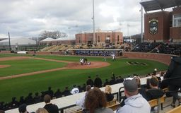 Purdue-indiana state baseball game stock photography