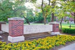 Purdue universitet royaltyfri foto