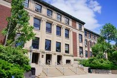 Purdue universitetsområde arkivbild