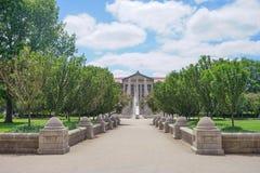 Purdue universitetsområdebyggnad arkivfoto