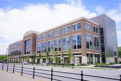 Purdue universitetsområdebyggnad royaltyfria bilder