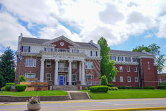Purdue universitetsområdebyggnad arkivbilder