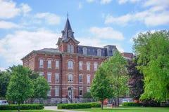 Purdue universitetsområdebyggnad fotografering för bildbyråer