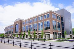 Purdue University campus building Royalty Free Stock Images