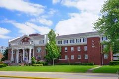 Purdue University campus building stock image