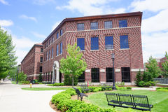 Purdue University campus building Stock Photography