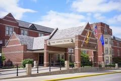 Purdue University campus: union club stock images