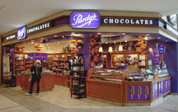 Purdy's Chocolate Store in Toronto Stock Image