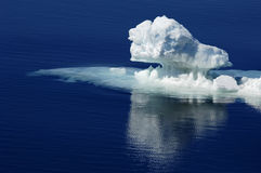 Pure Antarctic ice Royalty Free Stock Photos