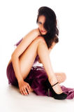 Pure Beautiful leg Stock Images