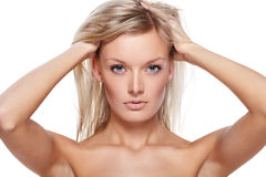 Pure beauty Stock Images