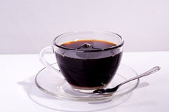 Pure black coffee Stock Photo