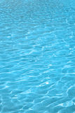 Pure blue water background Stock Image
