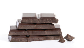 Pure chocolate. Royalty Free Stock Image