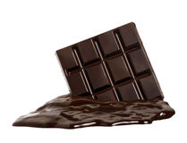 Pure chocolate. Royalty Free Stock Photography
