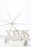 Pure christmas decoration Royalty Free Stock Images