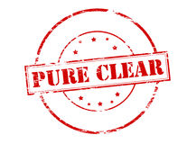 Pure clear vector illustration