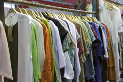Pure cotton clothes Stock Image