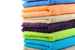 Pure cotton towels Stock Photography