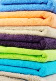Pure cotton towels Stock Photo
