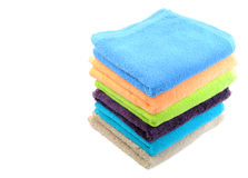 Pure cotton towels Stock Images