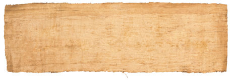 Pure Egyptian papyrus. Empty pure Egyptian papyrus scanned Stock Images