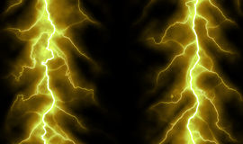 Pure energy and electricity background royalty free illustration