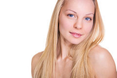 Pure female young beauty Royalty Free Stock Photography