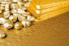 Pure Gold Royalty Free Stock Photo
