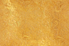 Pure gold. Background pattern made from pure gold floral Stock Images
