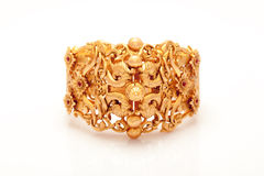 Pure Gold Bracelet Royalty Free Stock Photo