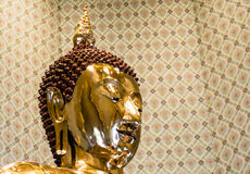Pure Gold Buddha Image at Wat Traimit, Bangkok, Thailand Stock Photos