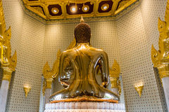 Pure Gold Buddha Image at Wat Traimit, Bangkok, Thailand Royalty Free Stock Image