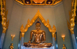 Pure gold Buddha Royalty Free Stock Images