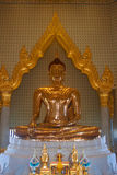 Pure gold Buddha Royalty Free Stock Photos