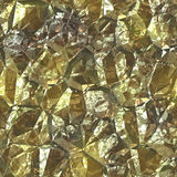Pure gold foil Royalty Free Stock Image