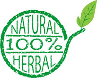 Pure herbal and natural Stock Photography