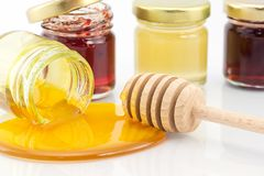 Pure honey Royalty Free Stock Images