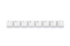 Pure Internet keys Stock Image