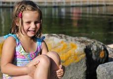 Pure kid smile Royalty Free Stock Photos