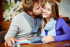 Pure kiss Stock Photography
