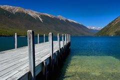 Pure Lake Rotoiti New Zealand. Pure sky pure lake rotoiti New Zealand Stock Photography