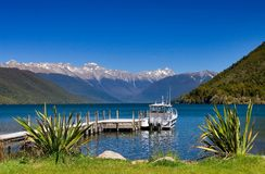 Pure Lake Rotoiti New Zealand. Pure sky pure lake rotoiti New Zealand Royalty Free Stock Images