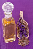 Pure lavender oil Royalty Free Stock Photos