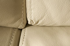 Pure leather background Stock Photos