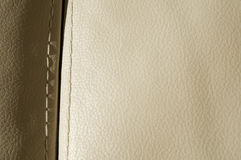 Pure leather background Stock Image
