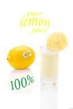 Pure lemon juice Stock Photo