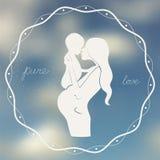Pure love illustration Stock Photo